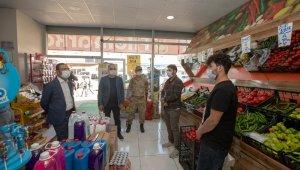 Belediye Başkan Vekili Aslan korona virüs denetimlerine katıldı