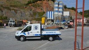 Belediye ekipleri kaçak yapılaşmayı durdurdu