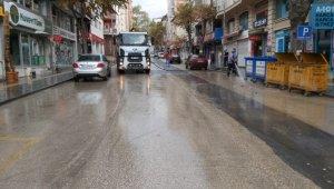 Belediye ekiplerince kapsamlı temizlik yapıldı