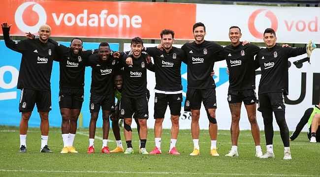Beşiktaş, Rio Ave maçı hazırlıklarına devam etti