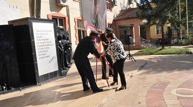 Besni'de 19 Eylül Gaziler Günü kutlandı