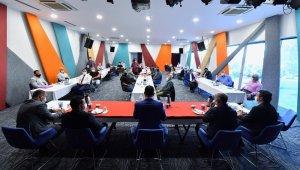 Beyoğlu'nda spor kulüplerinin yöneticileri istişare toplantısında buluştu