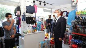 Bingöl'de maske kullanımı yaygınlaştı, vaka artışında azalış başladı