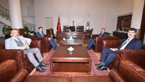 Bitlisli başkanlardan Hasan Kılca'ya ziyaret
