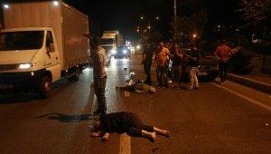 Bursa'da motosiklete otomobil çarptı: 2 ağır yaralı - Bursa Haberleri