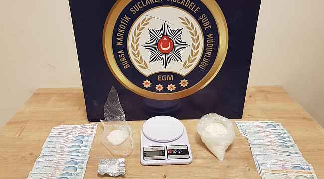 Bursa'da uyuşturucu operasyonu: 2 tutuklu, 5 gözaltı