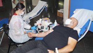 BUTTİM sâkinlerinden kan bağışı