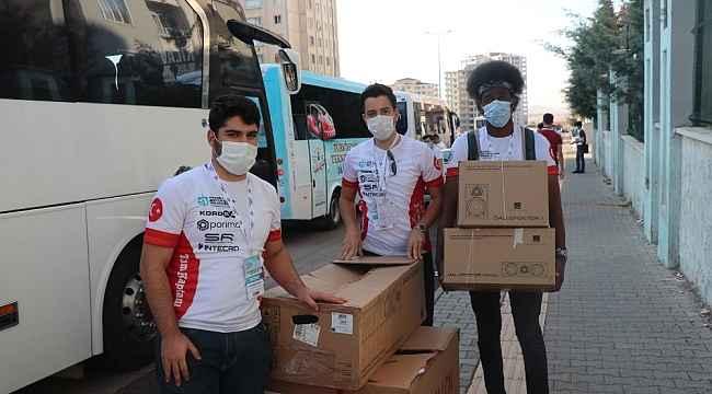 Büyükşehir'in desteklediği öğrenciler TEKNOFEST'te