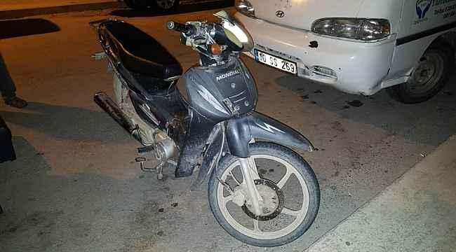 Çaldıkları motosikletle hırsızlığa kalkıştılar