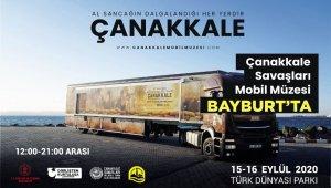 Çanakkale Savaşları Mobil Müzesi Bayburt'ta