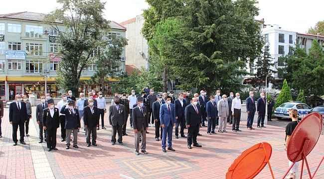 Çaycuma'da Gaziler Günü törenle kutlandı