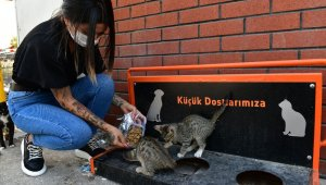 Çiğli Belediyesi sokak sakinlerini unutmadı