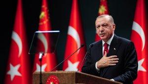 """Cumhurbaşkanı Erdoğan: """"BM tarihinde ilk defa ülkemizden bir isim, uzun yıllar Meclis'te milletvekilimiz olarak görev yapan Volkan Bozkır, Genel Kurul başkanı olarak görev yapacak. BM Genel Kurulun öncelikli gündemi salgın olacaktır."""""""