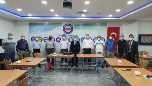 Cumhurbaşkanlığı İletişim Başkanlığı Erzincan Bölge Müdürü Tekin'den Memur-Sen'e ziyaret