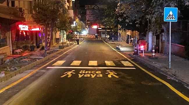 Demir Sokak 1 günde yenilendi