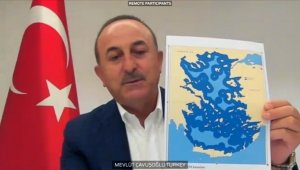 Dışişleri Bakanı Çavuşoğlu AP'de konuştu: