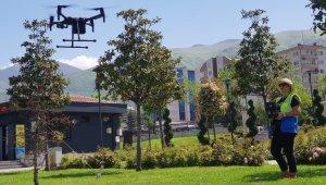 Drone ile kaçak yapı tespitine ödül