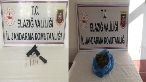 Elazığ'da uyuşturucu operasyonu:4 gözaltı