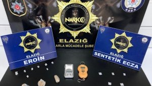 Elazığ'da uyuşturucu taciri 2 şüpheli tutuklandı