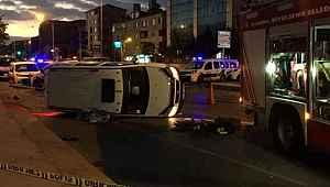 Emniyet kemeri takılı olmayan sürücü, kazada, araçtan savrularak öldü