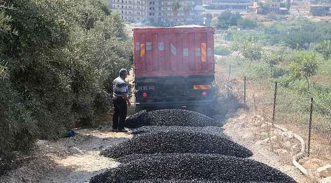 Erdemli Belediyesi, asfaltı kendi tesislerinde üretiyor