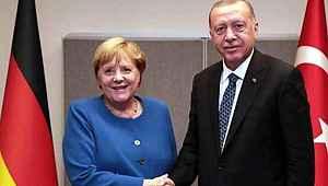 Erdoğan ile Merkel arasında Doğu Akdeniz görüşmesi: