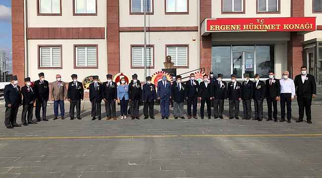 Ergene'de Gaziler Günü kutlandı