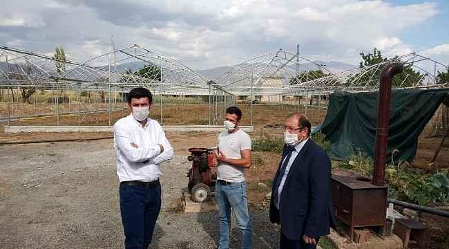 Erzincan'da sera alanı 500 dekarı aşacak