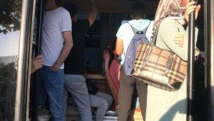 Esenyurt'ta balık istifi yolcu taşımacılığı, minibüsten 12 kişi yerine 24 kişi çıktı