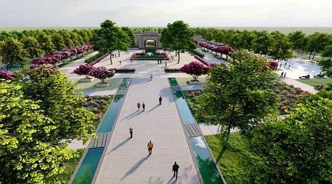 Eyyübiye'ye bölgenin en büyük millet bahçesi kazandırılacak