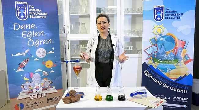 Feza Gürsey Bilim Merkezi faaliyetlerini dijital ortama taşındı