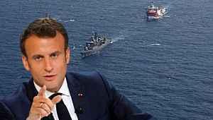 Fransa'dan Türkiye'ye küstah Doğu Akdeniz tehdidi: