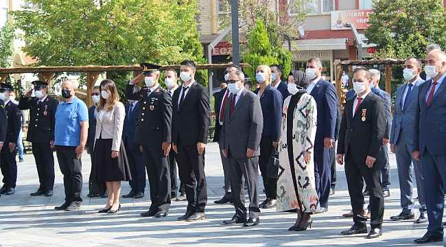 Gaziler Günü Akyurt'ta kutlandı