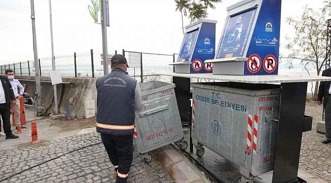 Gebze'de yer altı konteyner uygulamaları sürüyor