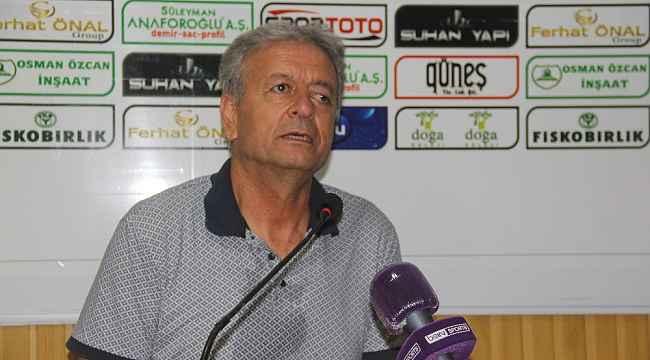 Giresunspor - Menemenspor maçının ardından
