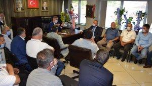 GMİS, Ereğli'nin yeni ilçe başkanlarını ziyaret etti