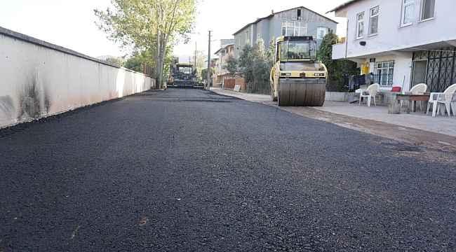 Gündoğdu ve Sanayi Mahallesi yeni asfalt yola kavuştu