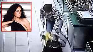 Güzellik kraliçesi markette ortalığı birbirine kattı... Reyon görevlisini defalarca bıçakladı