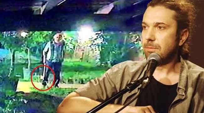 Halil Sezai soruşturmasında yeni görüntüler... Dövdüğü komşusu elinde baltayla şarkıcının evine gelmiş