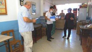 Hisarcık'ta kapsamlı Korona virüs denetimi