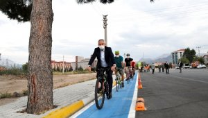 Isparta'ya 23 Km'lik bisiklet yolu