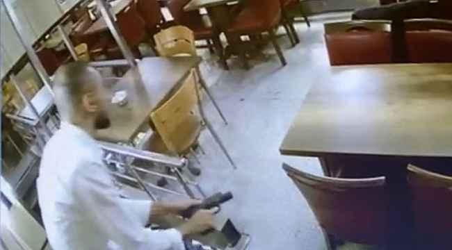 İstanbul'da börekçide silahlı çatışma kamerada