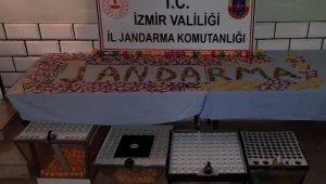 İzmir'de dernek ve depolara kumar baskını