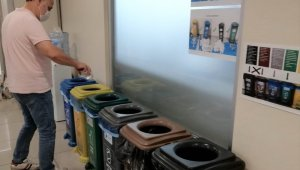 İzmit Belediyesinde çöp kutuları kalktı, atık miktarı azaldı