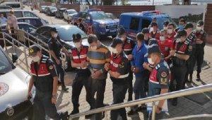 Kablo hırsızları adliyede: 4 tutuklu