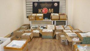 Kahramanmaraş'ta 5 milyon liralık kaçakçılık operasyonu