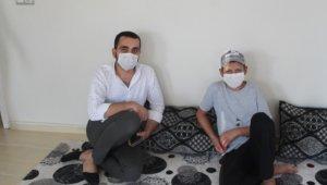 Kahta'da ihtiyaç sahibi ailelere ziyaret