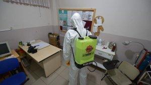 Karesi'de pandemi mücadelesi sürüyor