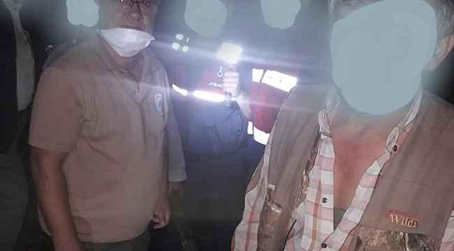 Kastamonu'da yasadışı Karaca avcılarına 12 Bin 336 TL ceza