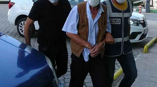 Kayınvalidesinin evini yakan damat tutuklandı